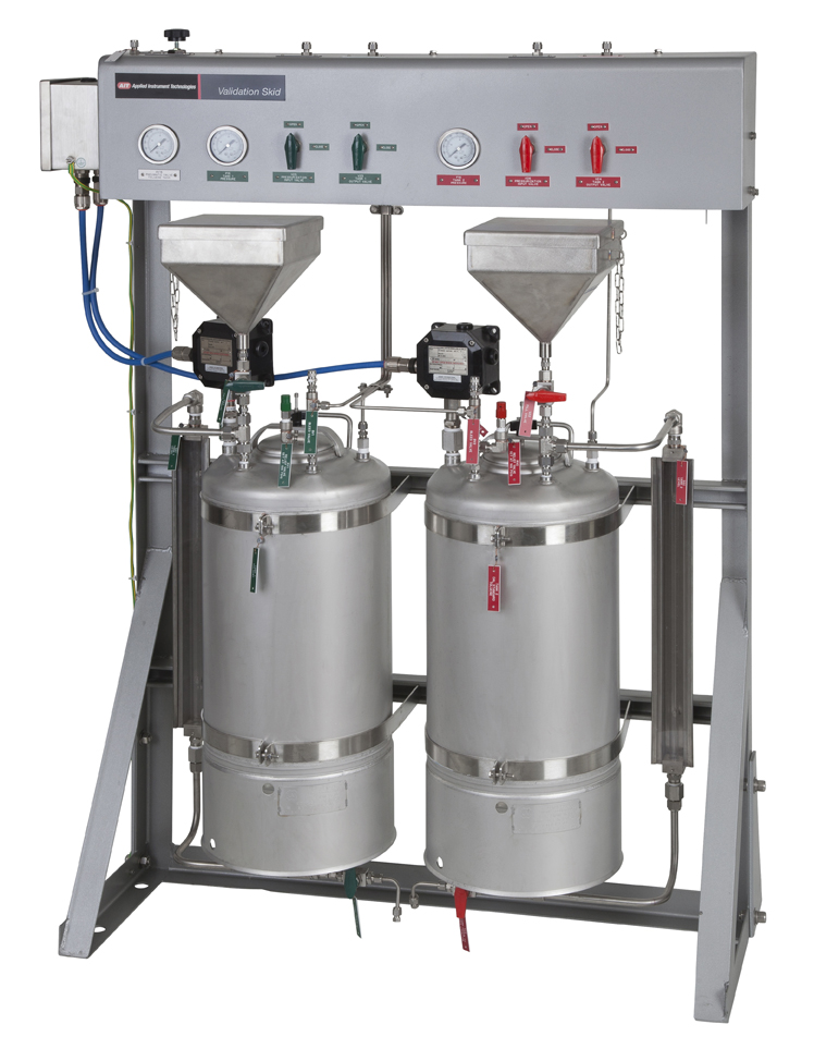 ASTM D6122 Wash and Validation Skid